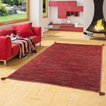 Natur Teppich Kelim Prico Rot online kaufen