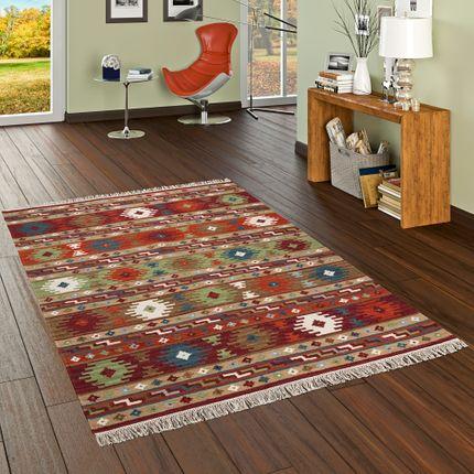 natur teppich kelim sumak rot bunt modern teppiche nepal gabbeh und kelim teppiche kelim teppiche. Black Bedroom Furniture Sets. Home Design Ideas
