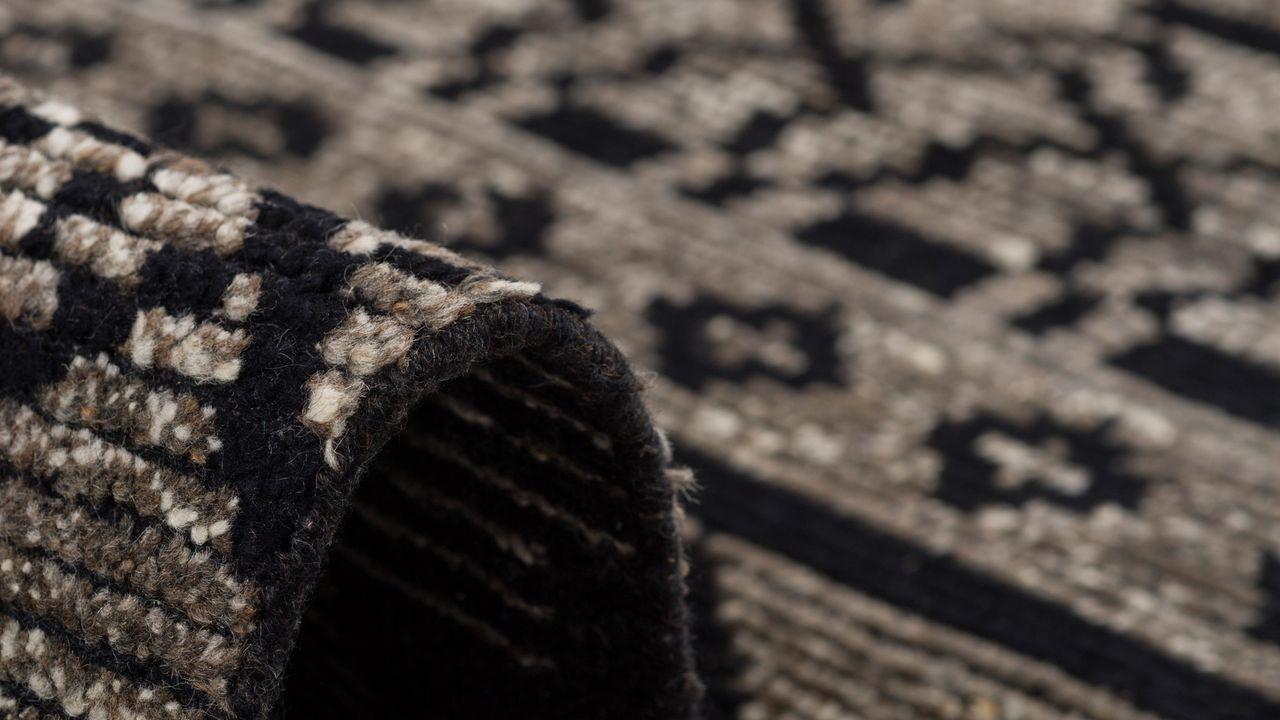 natur teppich vintage berber schwarz braun teppiche sisal und naturteppiche berber teppiche. Black Bedroom Furniture Sets. Home Design Ideas