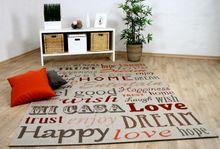 In- und Outdoor Teppich Flachgewebe Carpetto Beige HOME online kaufen