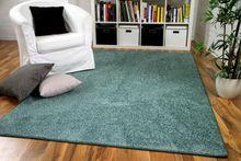 Hochflor Langflor Teppich Cottage Mintgrün online kaufen