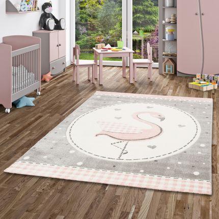 Kinder Teppich Maui Kids Pastell Rosa Flamingo online kaufen