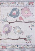 Kinder und Spielteppich Softstar Kids Singende Vögel Pastell Bunt online kaufen