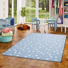 Kinder Spiel Teppich Sterne Blau online kaufen