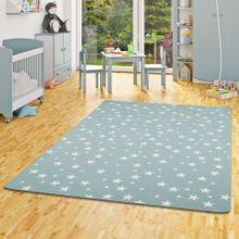 Kinder Spiel Teppich Sterne Mintgrün online kaufen