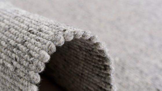 Natur Teppich Wolle Beidseitig Island Grau online kaufen