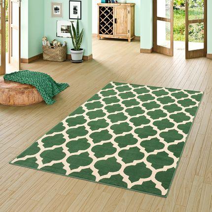 Teppich Modern Trendline Fliesenoptik Grün online kaufen