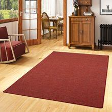 Schlingen Teppich Alma Rot Meliert online kaufen