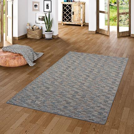 Streifenberber Teppich Modern Stripes Anthrazit online kaufen