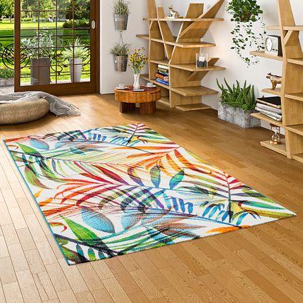 Designer Teppich Faro Tropical Bunte Zweige online kaufen