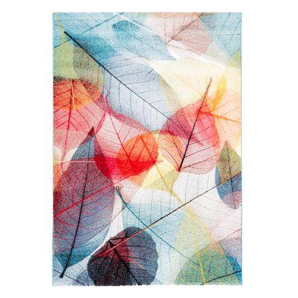Designer Teppich Faro Tropical Bunte Blätter online kaufen