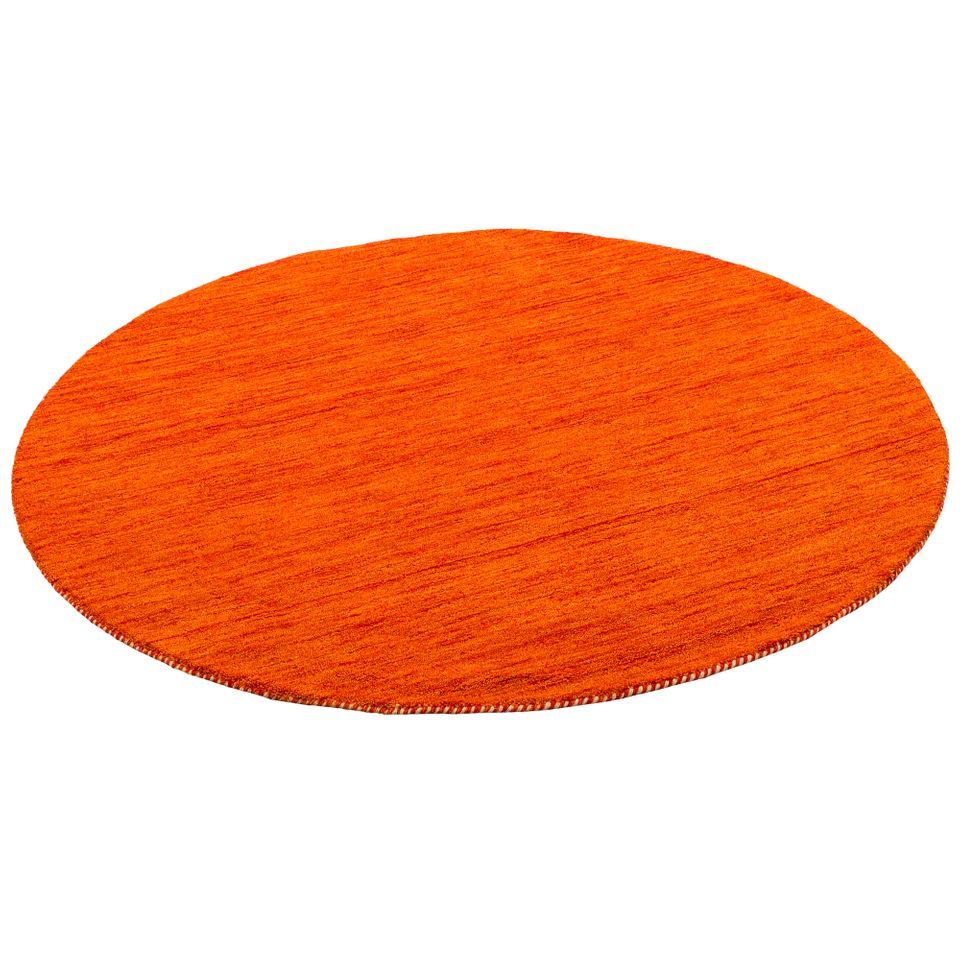 natur teppich indo gabbeh ella terrakotta rund teppiche nepal gabbeh und kelim teppiche. Black Bedroom Furniture Sets. Home Design Ideas