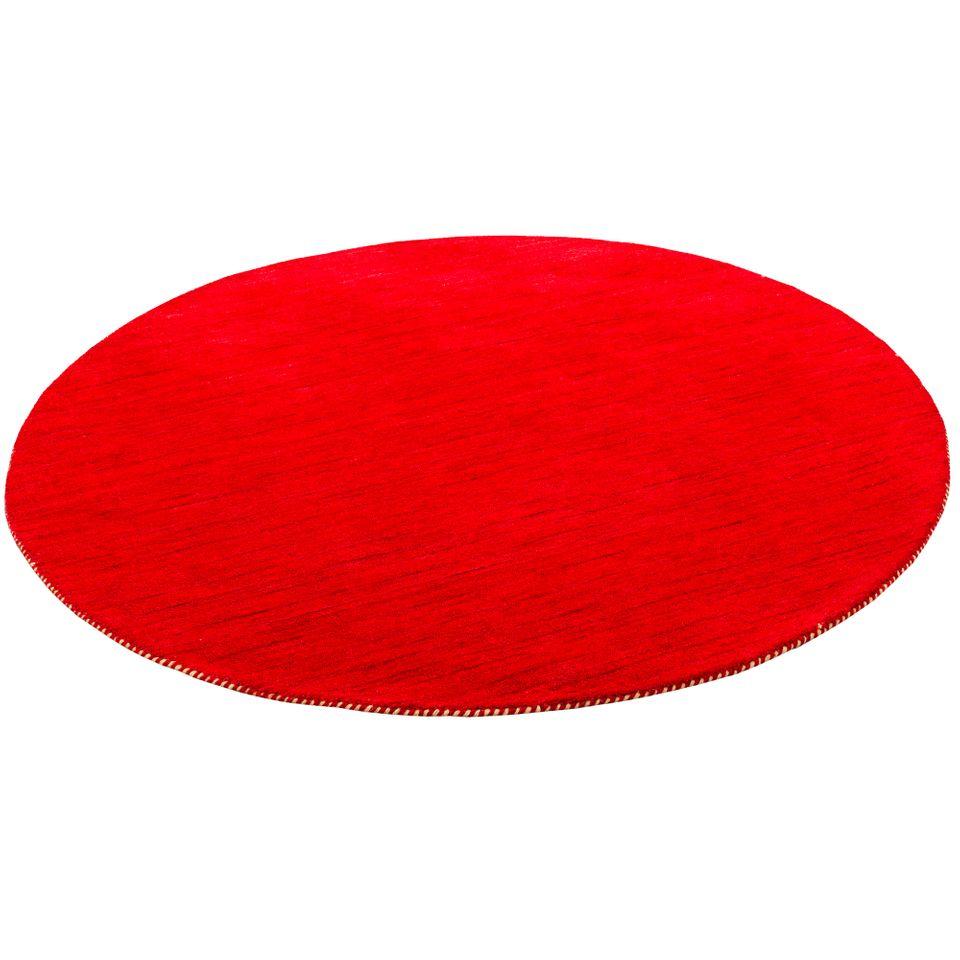 natur teppich indo gabbeh ella rot rund teppiche nepal gabbeh und kelim teppiche hochwertige. Black Bedroom Furniture Sets. Home Design Ideas