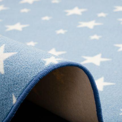Kinder Spiel Teppich Sterne Blau Rund online kaufen