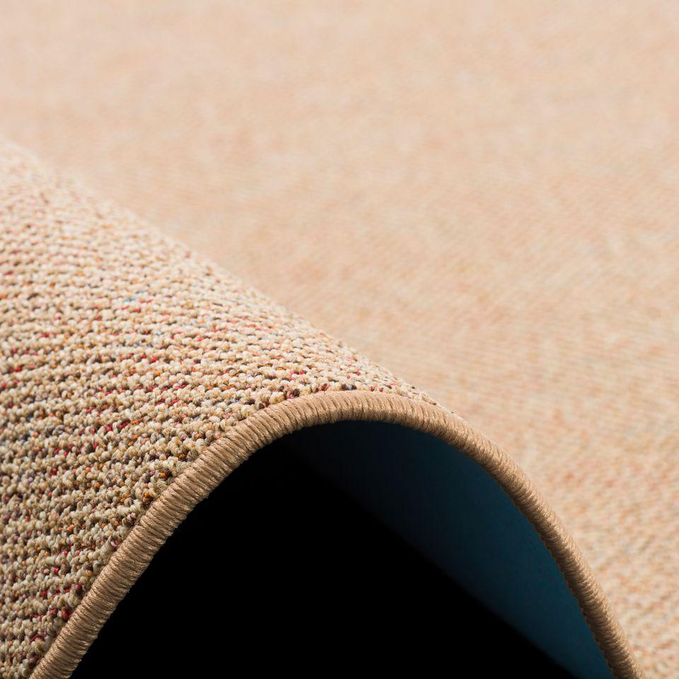 schlingen teppich alma beige meliert beige rund teppiche veloursteppiche kr usel velours triumph. Black Bedroom Furniture Sets. Home Design Ideas
