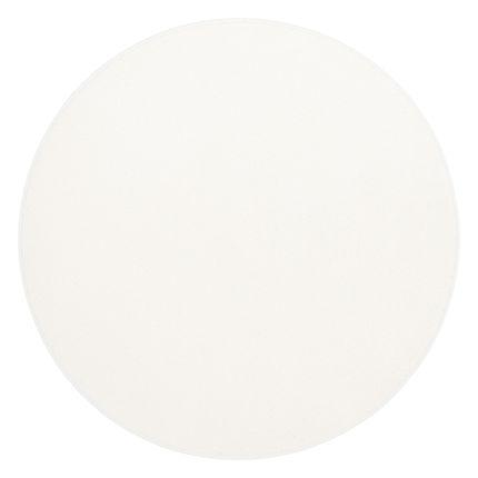 Hochflor Velours Teppich Luna Weiss Rund online kaufen