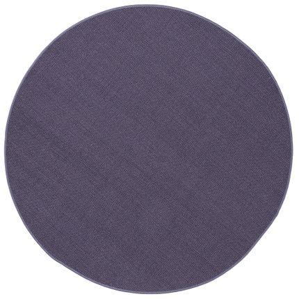 Sisal Natur Teppich Astra Blau Rund online kaufen