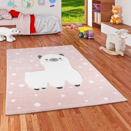 Kinder Teppich Maui Kids Alpaka Rosa online kaufen