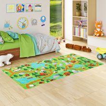 Kinder Spiel Teppich Campingplatz Grün online kaufen