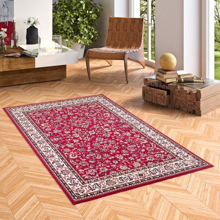 Orient Teppich Trendline Rot Bordüre online kaufen