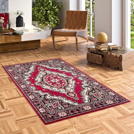 Orient Teppich Trendline Rot Keshan online kaufen