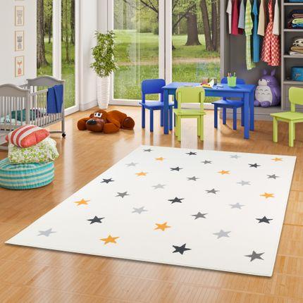Kinder und Jugend Teppich Trendline Sterne Creme Mix online kaufen