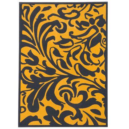 Designer Teppich Passion Anthrazit Curry Barock online kaufen