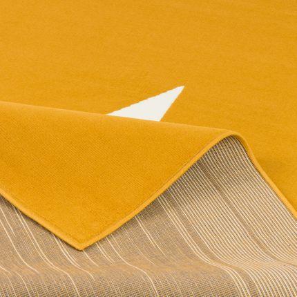 Kinder und Jugend Teppich Trendline Stern Curry Gelb online kaufen