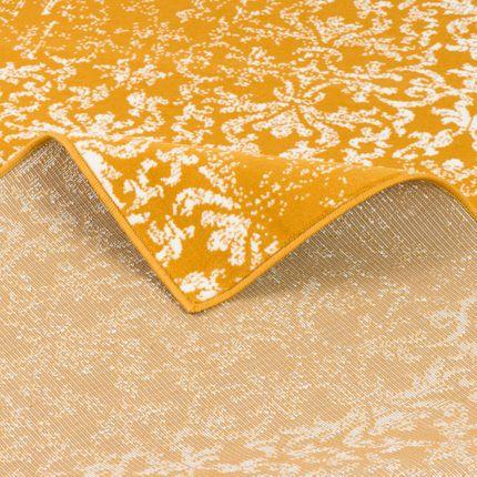 Designer Teppich Passion Vintage Curry Verlauf online kaufen
