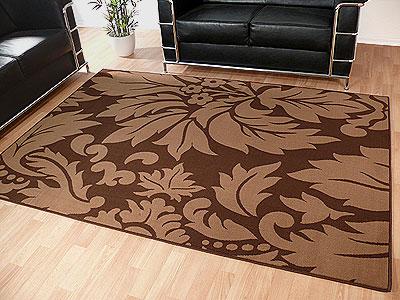 Teppich Modern Trendline Braun Barock online kaufen