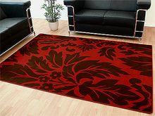 Teppich Modern Trendline Rot Braun Barock online kaufen