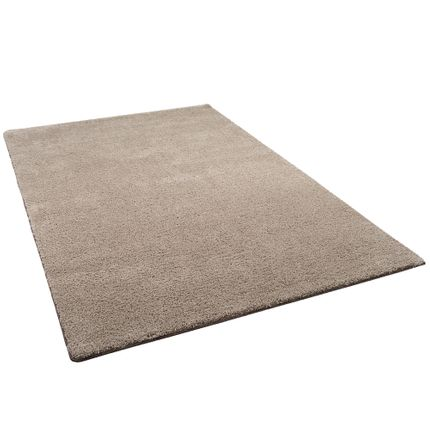 Hochflor Shaggy Teppich Palace Taupe online kaufen