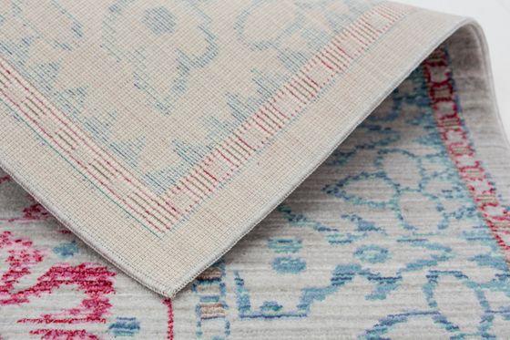 Orient Vintage Designer Teppich Schöner Wohnen Shining Bordüre Türkis Pink online kaufen