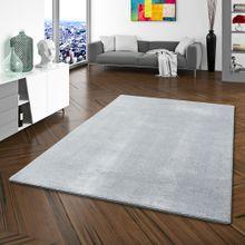 Hochflor Luxus Velours Teppich Touch Grau online kaufen