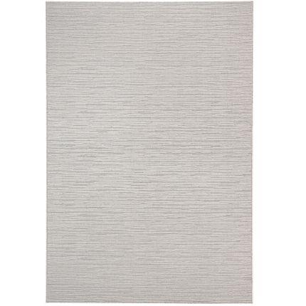 In- und Outdoor Teppich Flachgewebe Santorin Ethno Grau Stripes online kaufen