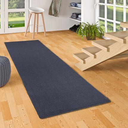 Sisal Natur Läufer Teppich Astra Blau online kaufen