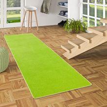Trend Velours Läufer Teppich Joy Grasgrün online kaufen