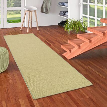 Sisal Natur Läufer Teppich Astra Grün online kaufen