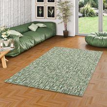 In- und Outdoor Teppich Flachgewebe Carpetto Grün Pixel online kaufen