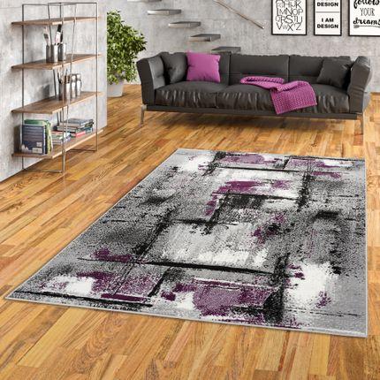 Designer Teppich Samba Modern Purple Urban