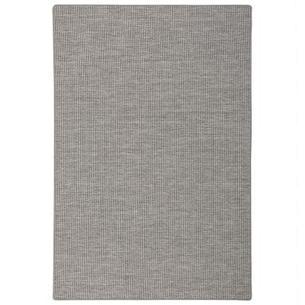 Sisal-Optik Designer Flachgewebe Teppich Pure Grau Meliert online kaufen