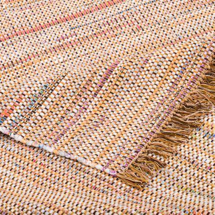 Baumwolle Natur Teppich Cayenne Braun Bunt Meliert online kaufen