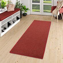 Läufer Teppich Schlingen Teppich Alma Rot Meliert online kaufen