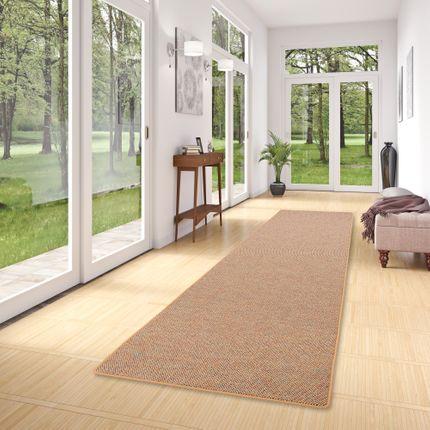 Läufer Teppich Schlingen Teppich Alma Beige Meliert online kaufen