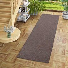 Läufer Teppich Schlingen Teppich Alma Anthrazit Meliert online kaufen