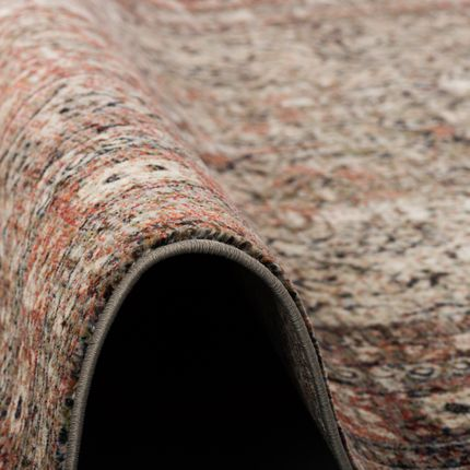 Designer Teppich Nia Vintage Anthrazit Orient Bordüre online kaufen