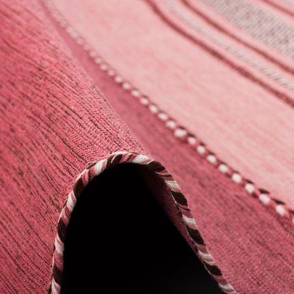 Natur Teppich Kelim Navarro Rosa online kaufen