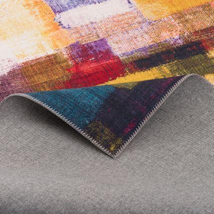 Luxus Vintage Designer Teppich Primus Bunt Verlauf online kaufen