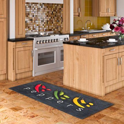 Küchenläufer Teppich Trendy Peppers