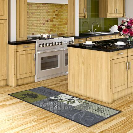 Küchenläufer Teppich Trendy Olives